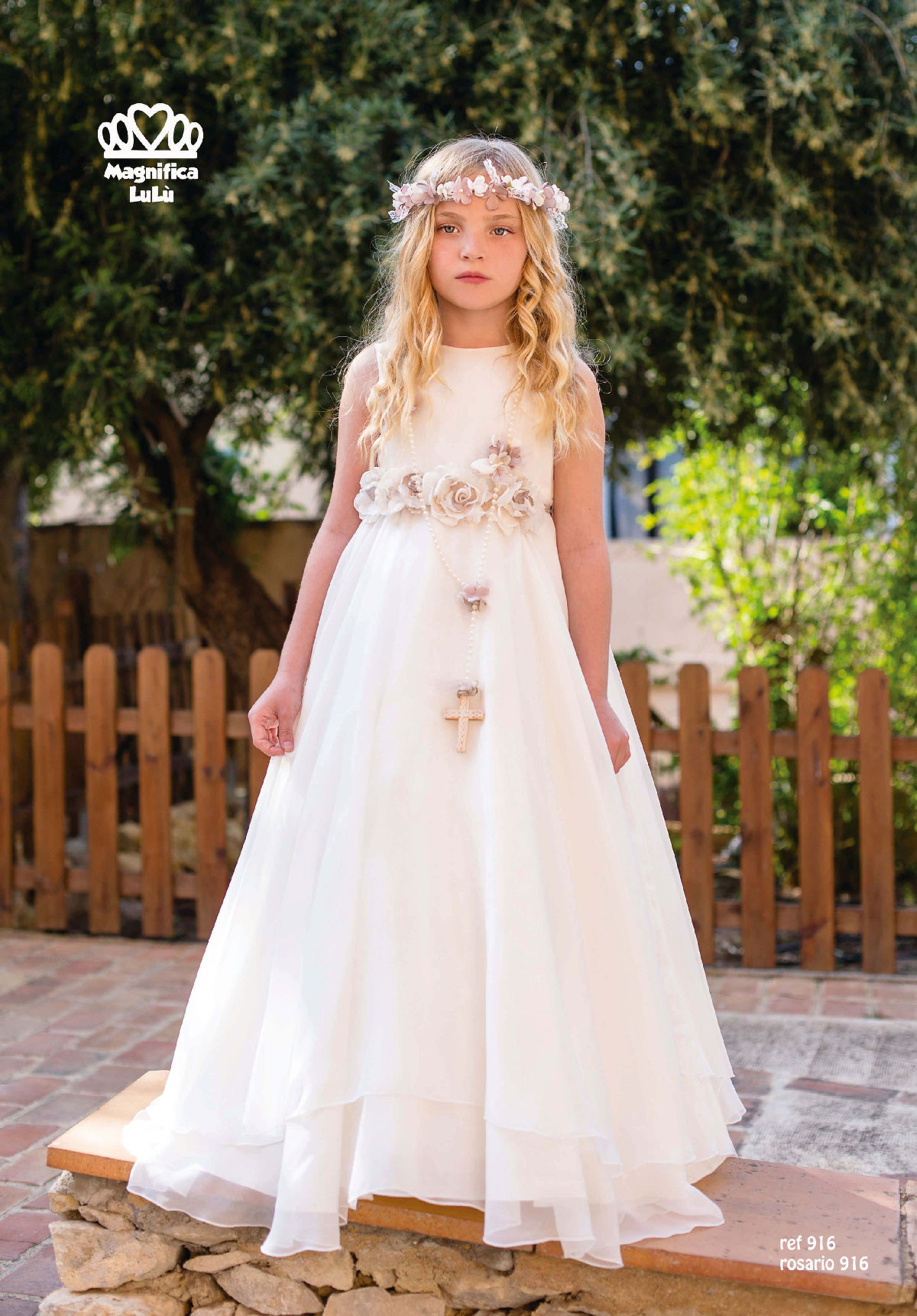 2016 First Communion Collection Magnifica Lulu