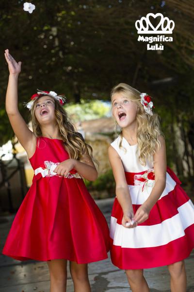 vestidos rojos princesas