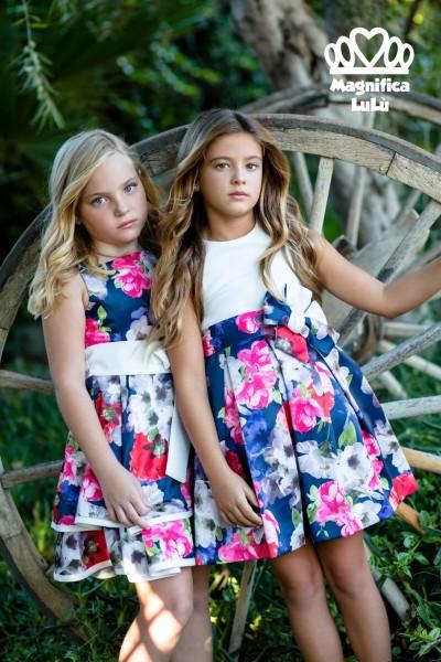Conjunto infantil tejido vaporoso y natural para todo tipo de compromisos y ceremonias.